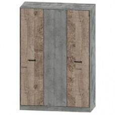 Спальня Сокме Бари шкаф 3Д
