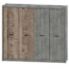 Спальня Сокме Бари шкаф 4Д