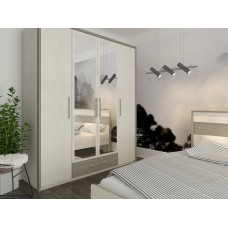 Спальня Сокме Сара шкаф 4Д