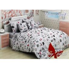 Детское постельное белье TAG Tekstil Совята серый