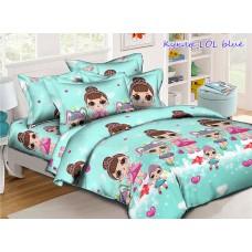 Детское постельное белье TAG Tekstil Куклы LOL blue