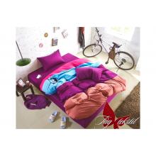 Комплект постельного белья TAG Tekstil Color mix APT003