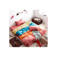 Комплект постельного белья TAG Tekstil Color mix APT005