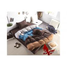 Комплект постельного белья TAG Tekstil Color mix APT013