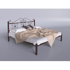 Кровать металлическая Tenero Бегония