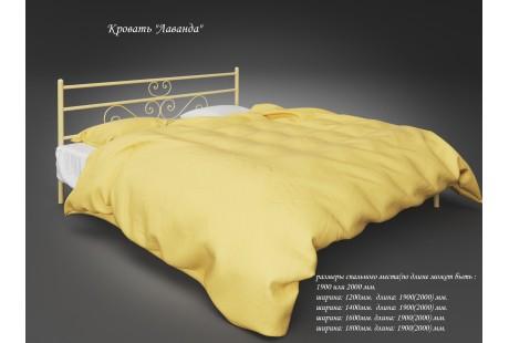 Кровать металлическая Tenero Лаванда