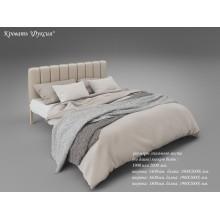 Кровать металлическая Tenero Фуксия