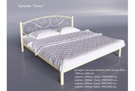 Кровать металлическая Tenero Лилия