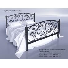 Кровать металлическая Tenero Магнолия