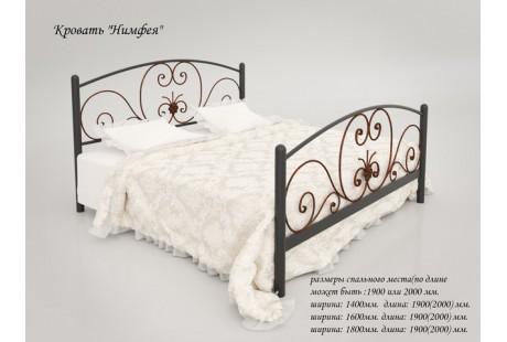 Кровать металлическая Tenero Нимфея