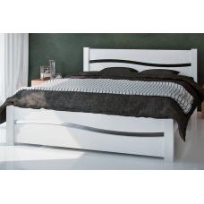Кровать деревянная ЮТА Волна