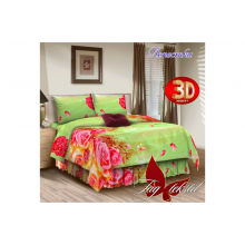 Комплект постельного белья TAG Tekstil Лепестки