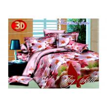 Комплект постельного белья TAG Tekstil Майский цвет с компаньоном
