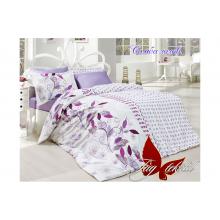 Комплект постельного белья TAG Tekstil Самба лилов.
