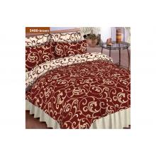 Комплект постельного белья Viluta 5400 Коричневый Ранфорс