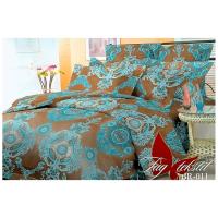 Комплект постельного белья TAG Tekstil Color mix APT011