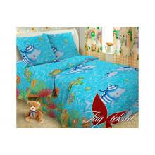 Детское постельное белье TAG Tekstil Дельфины