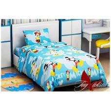 Детское постельное белье TAG Tekstil Mickey Mouse blue