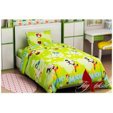 Детское постельное белье TAG Tekstil Mickey Mouse green