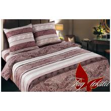 Комплект постельного белья TAG Tekstil с комп.  Восточные узоры