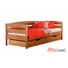 Кровать деревянная Эстелла НОТА Плюс 102 Бук (ЩИТ)