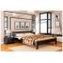 Кровать деревянная Эстелла РЕНАТА Бук (ЩИТ)
