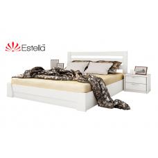 Кровать деревянная Эстелла Селена подьем. мех. Бук (МАССИВ)