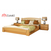 Кровать деревянная Эстелла Селена Аури подъемный механизм Бук (ЩИТ)