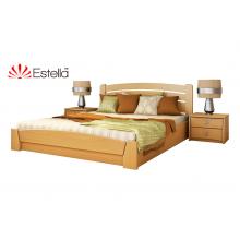 Кровать деревянная Эстелла Селена Аури подьем. мех. Бук (ЩИТ)
