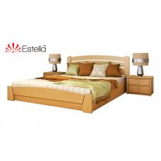 Кровать деревянная Эстелла Селена Аури подьем. мех. Бук (МАССИВ)