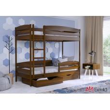 Кровать деревянная Эстелла ДУЭТ Плюс Бук (МАССИВ)