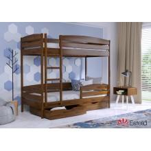 Кровать деревянная Эстелла ДУЭТ Плюс Бук (ЩИТ)