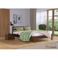 Кровать деревянная Эстелла РЕНАТА Люкс Бук (ЩИТ)
