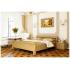 Кровать деревянная Эстелла ДИАНА Бук (ЩИТ)