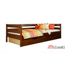 Кровать деревянная Эстелла НОТА 102 Бук (ЩИТ)