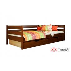 Кровать деревянная Эстелла НОТА 102 Бук (МАССИВ)