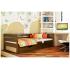 Кровать деревянная Эстелла НОТА Бук (ЩИТ)