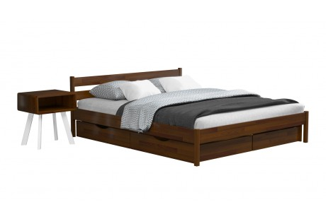Кровать деревянная Эстелла Нота Бене Бук (МАССИВ)