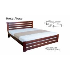 Кровать деревянная Melbi Ника Люкс