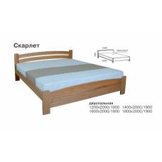 Кровать деревянная Melbi Скарлет