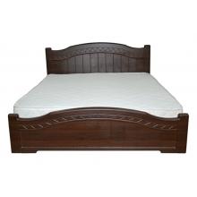 Кровать Неман Доминика деревянный вклад